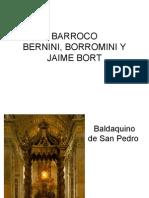 Barroco, Bernini, Borromini y Jaime Bort