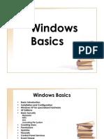 Windows Basics Main