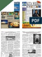 "Kuta Weekly-Edition 267 ""Bali""s Premier Weekly Newspaper"""