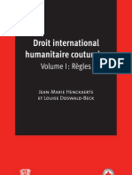 Droit International ire Coutumier