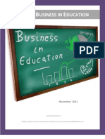 Business in Education - November 2011