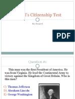 Daniels Citizenship Test!5