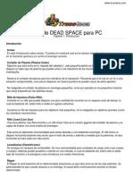 Guia Trucoteca Dead Space Pc