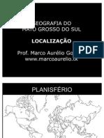 1 Localização do Mato Grosso do Sul