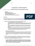 Application Steps 2012