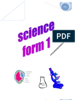 SCIENCE PMR Notes and Experiments