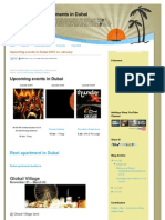 Upcoming Events in Dubai 2012 | Holidays Shop