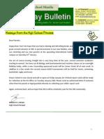 HS Friday Bulletin 01-13
