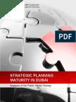 Strategic Planning Maturity in the Public Sector in Dubai
