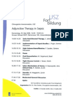 Adjunctive Therapy in Sepsis