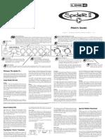 Spider II User Manual - English