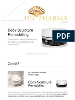 Body Sculpture Remodelling CLAMYS PHARMA