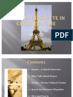 Business Etiquette in Cross Culture