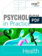 Psychology in Practice HEALTH by P Banyard