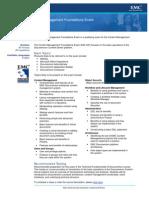 Exam Description D65CMF