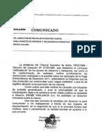 Comunicado empresa-solicitud dictamen vinculante