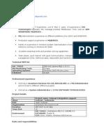 Mq Series Resume