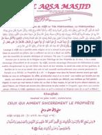 Ceux Qui Aiment Sincerement Le Prophete صلى الله عليه وسلم
