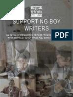 Teaching Boy Writers