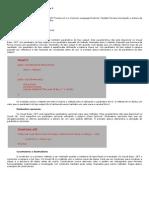 Desenvolvimento aplicações Parte V