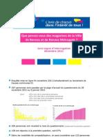 Causes Communes Résultats de l'enquête sur les magazines de Rennes et de Rennes Métropole 2011