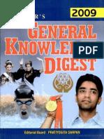 Upkar's General Knowledge Digest 2010