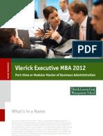Brochure PT MBA 20110713 Vlerick