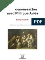 Francoise Dolto Une Conversation Avec Philippe Aries