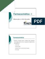 02 Farmacologia I - Farmacocinética I