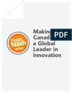 Making Canada a Global Leader in Innovation