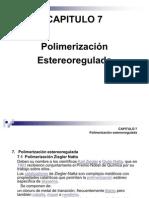 Polimerización Ziegler y Metátesis - 2009