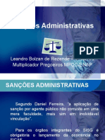 Curso - Sanções Administrativas