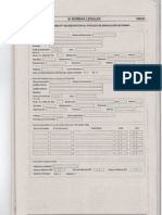 Formulario N° 1 de Inscripción al proceso de devolución de FONAVI