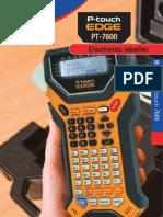 PT 7600 Brochure