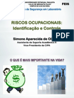Riscos Ocupacionais - identificação e controle