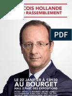 Tracts François Hollande