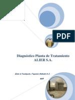 DIAGNOSTICO VERTIDOS PAPELERA  Dr. José Lucas Pérez Pardo y Cols. Exremadura