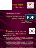 didactica lengua castellana