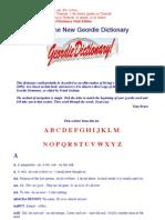 Geordie Dictionary