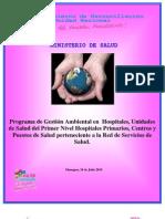 Programa de Gestion Ambiental Nueva Operacion Con BM