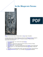 Avataras in the Bhagavad Purana