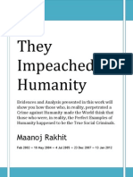 11 - They Impeached Humanity