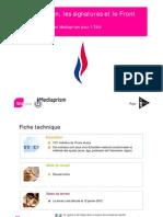 La candidature de Marine Le Pen, les 500 signatures et le Front national
