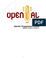OpenAL Programmers Guide