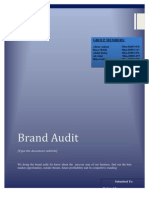 61137308 Dawlance Brand Audit
