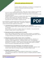 12 SUGESTII Pentru Aplicarea Eficienta a EFT