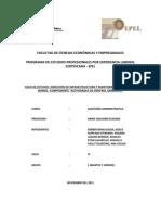 Actividades de Control Gerencial en DIMO Final Final