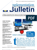 EPA Implementation Bulletin - Sep-Dec 2011