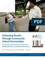 Achieving Results Through Community School Partnerships