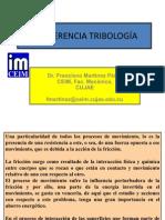 CONFERENCIA TRIBOLOGÍA